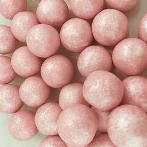 bolas de chicle rosas