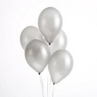 globos plateados