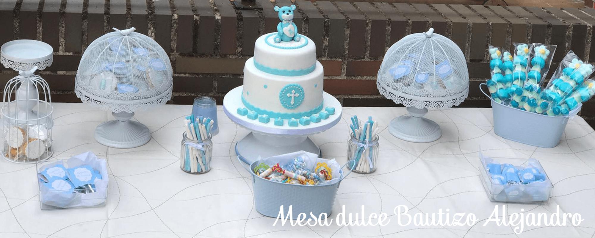 mesa dulce bautizo