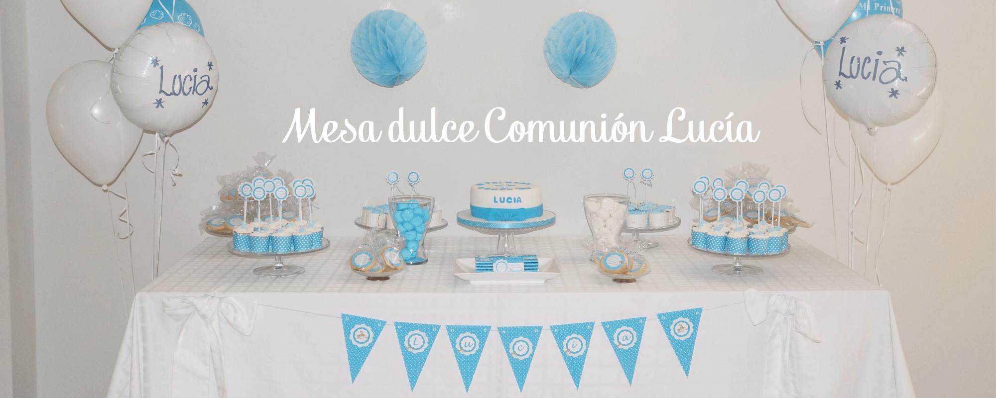 Reposter a fiestas y scrap - Preparar mesa dulce para comunion ...