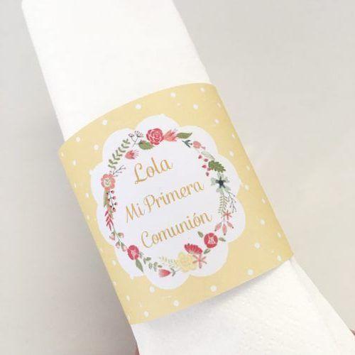 Etiquetas servilletas