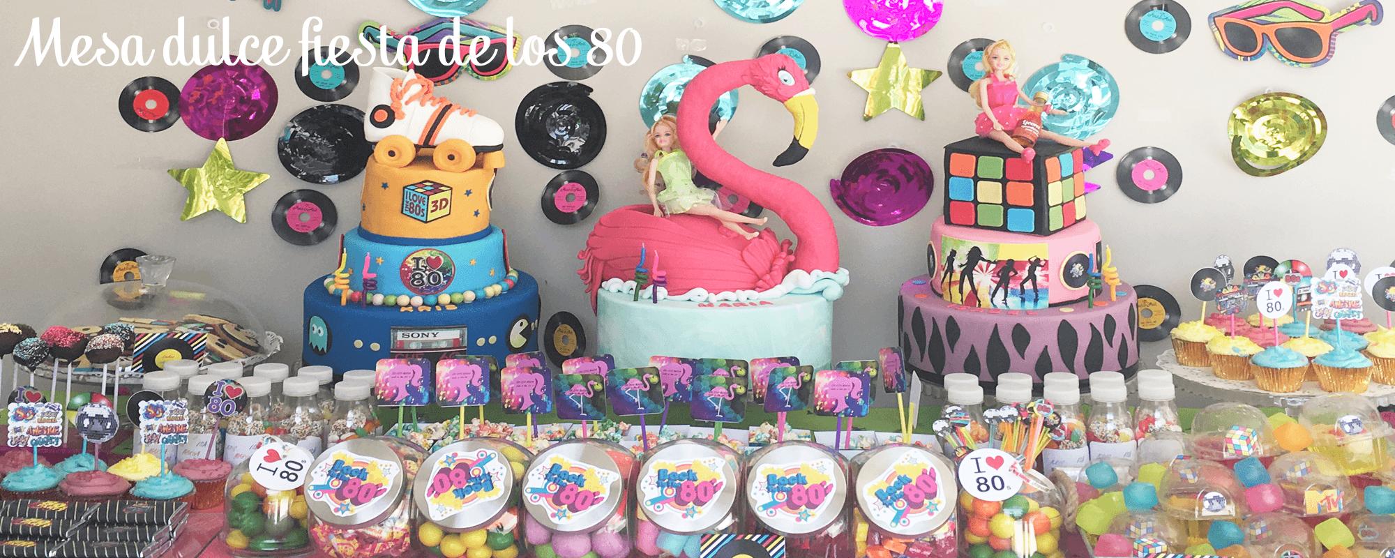 mesa dulce años 80