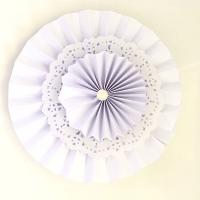 abanico de papel de seda