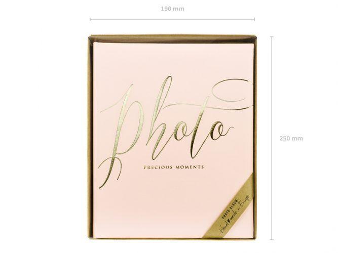 album-de-fotos-rosa-dorado