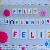banderin feliz cumpleaños