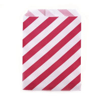 bolsas papel rojas