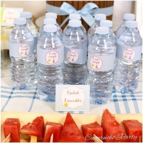 Amado aleación Cuadrante  12 Etiquetas para botellas | Cucurucho Party