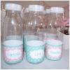 botellas mesas dulces