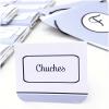etiquetas de mesa personalizadas