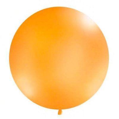 globo gigante naranja 90cm