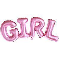 globo girl para babyshowers