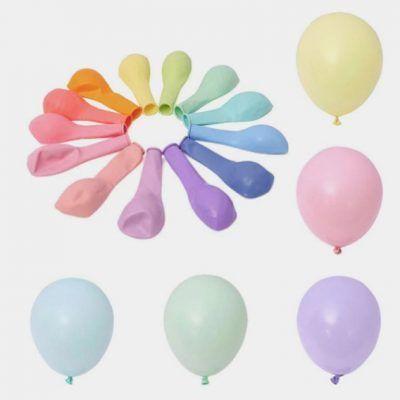 globos color pastel 15 cm