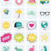 iconos de color