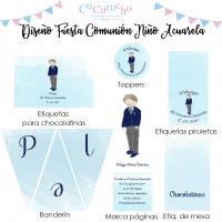 Papelería comuniones