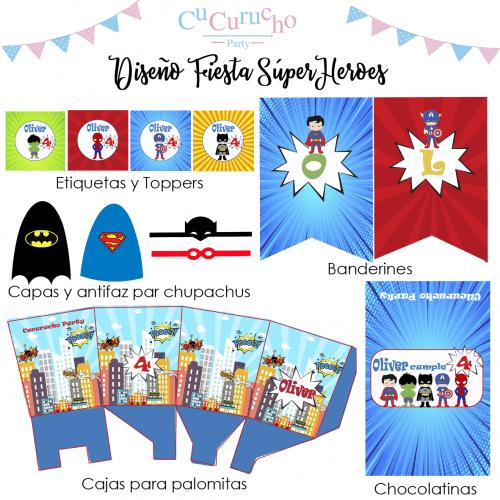 kit-imprimible-superheroes
