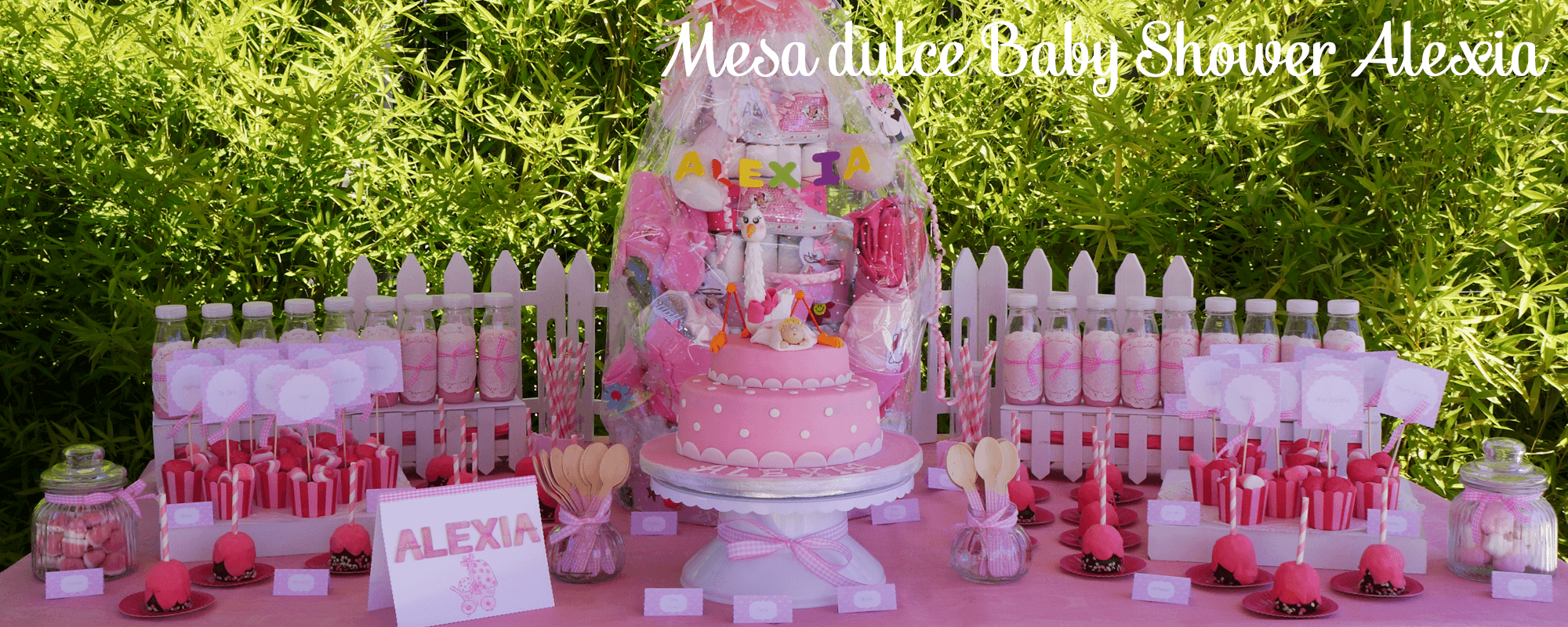 mesa dulce baby shower