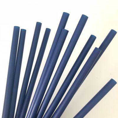 pajitas azul marino