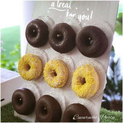 panel de donuts