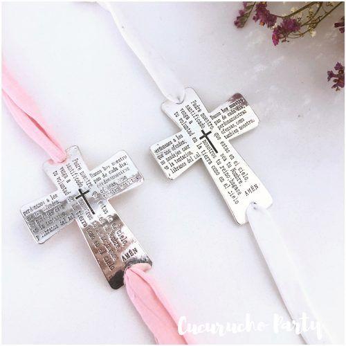 pulsera cruz Padre Nuestro