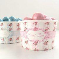recipientes para mesas dulces y candy bar