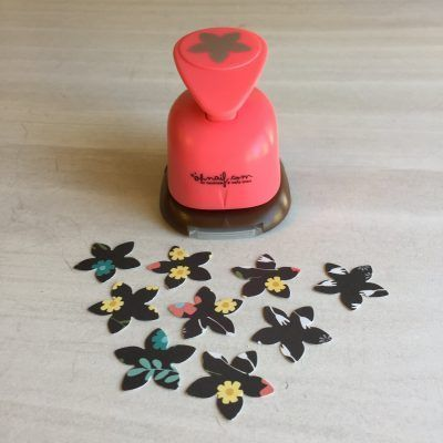 troqueladora flor pequeña