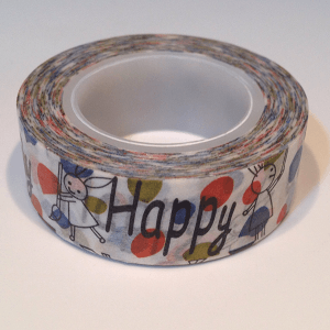 washi tape Happy