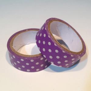 washi tape morado