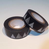 washi tape negro con montañas