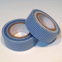 washi tape rayas azules